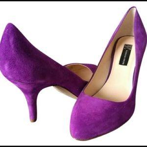 INN Zitah Purple Pump Heels